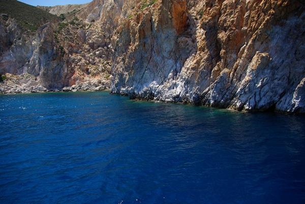Milos Grecia isola dei colori