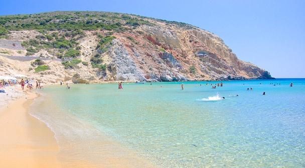 Spiaggia di Provatas a Milos